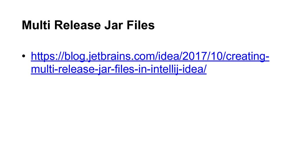 • https://blog.jetbrains.com/idea/2017/10/creat...