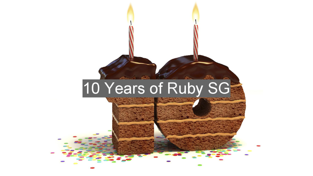 10 Years of Ruby SG