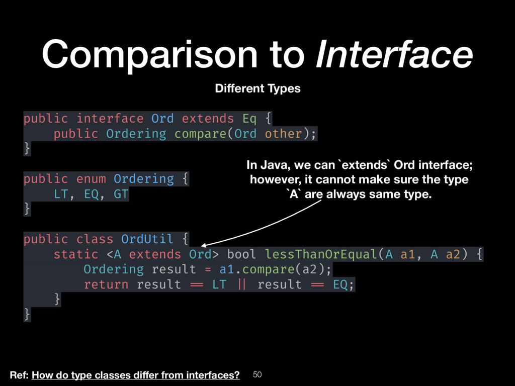 50 Comparison to Interface Different Types publi...