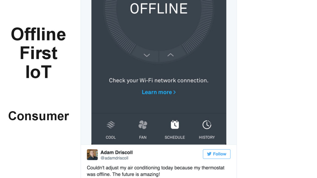 Consumer Offline First IoT