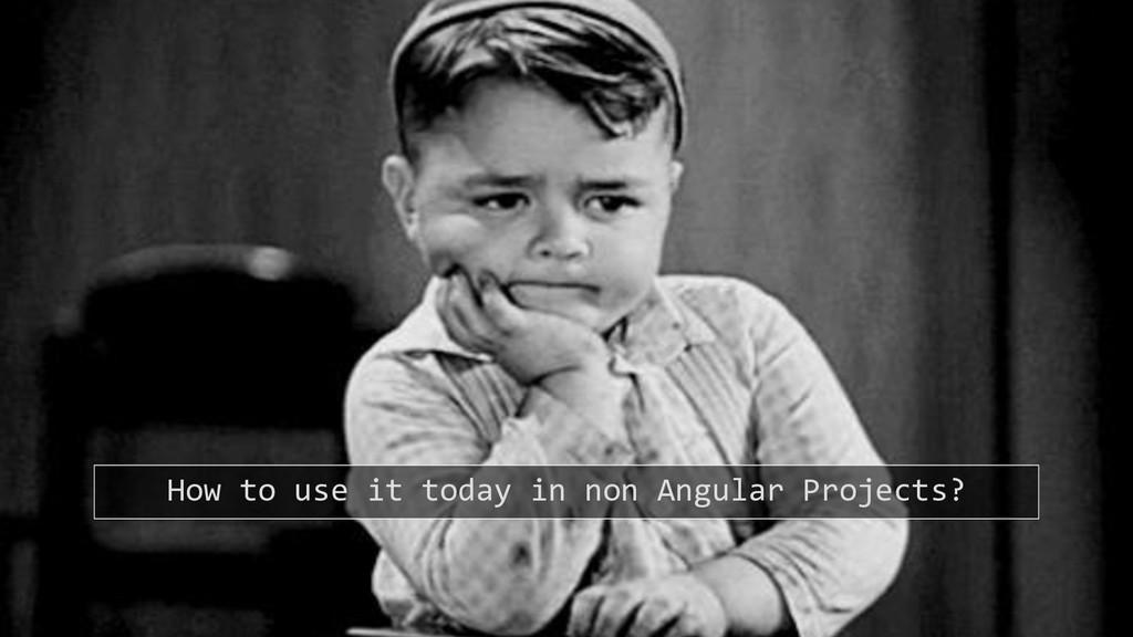19.09.2018 JavaLounge - Angular Elements 45 How...