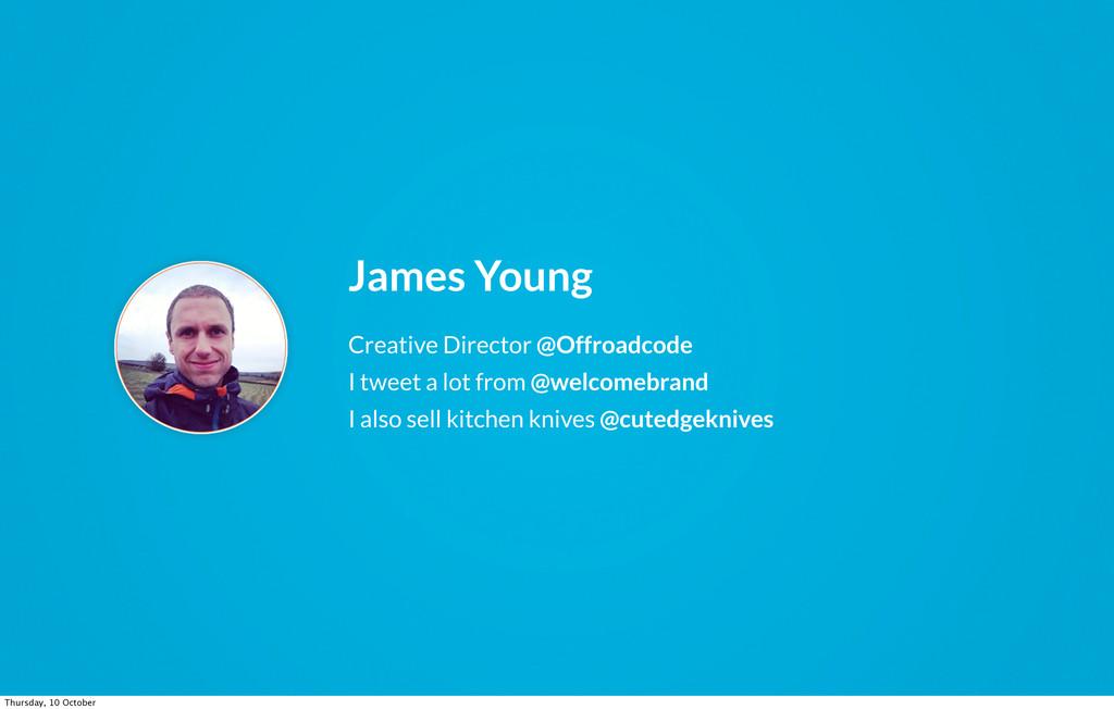 Creative Director @Offroadcode I tweet a lot fr...