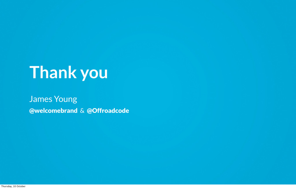 Thank you James Young @welcomebrand & @Offroadc...