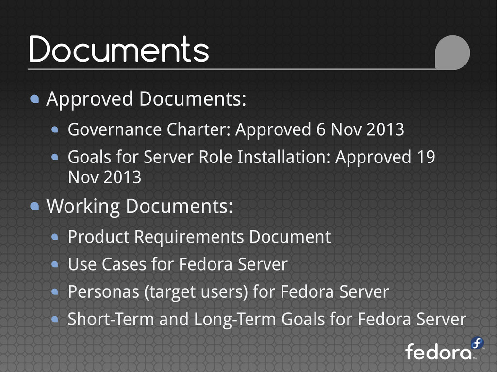 Approved Documents: Governance Charter: Approve...