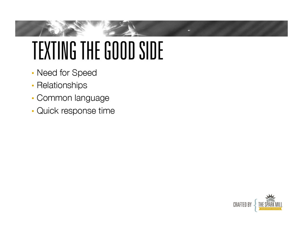 TEXTING THE GOOD SIDE • Need for Speed • Rel...
