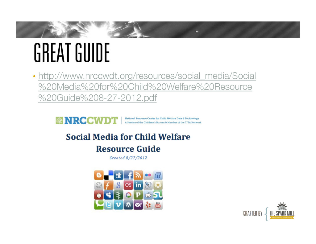 GREAT GUIDE • http://www.nrccwdt.org/resources...