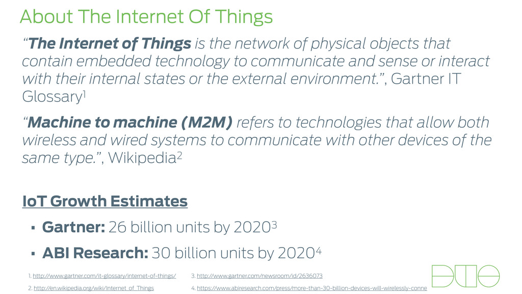 "About The Internet Of Things ""The Internet of T..."