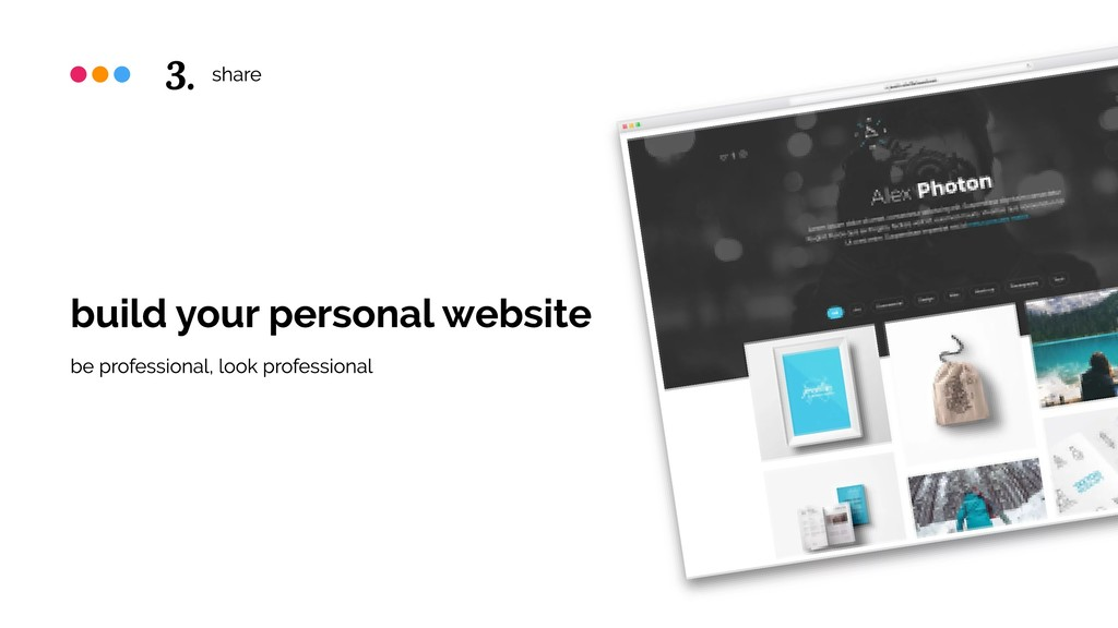 share build your personal website be profession...