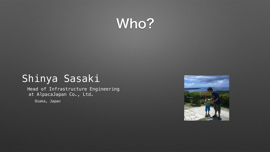 8IP Shinya Sasaki Head of Infrastructure Engine...
