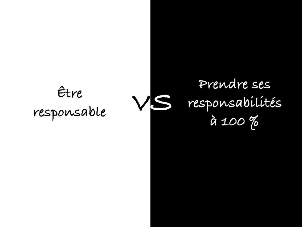 Être responsable Prendre ses responsabilités à ...