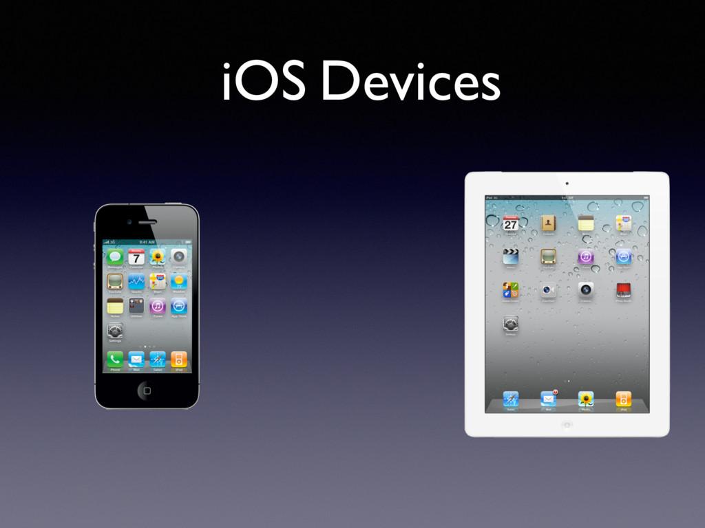 iOS Devices
