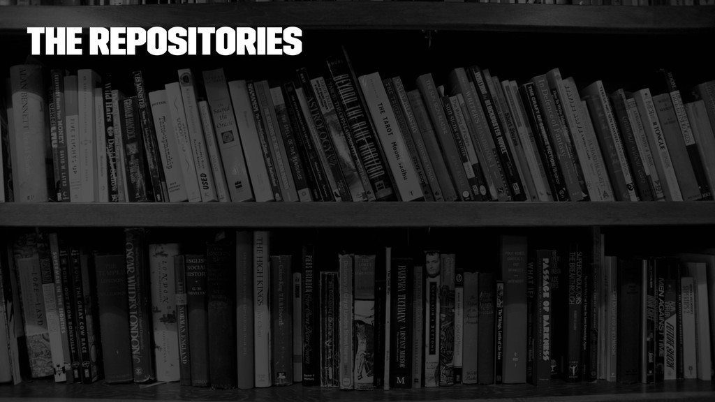 The repositories