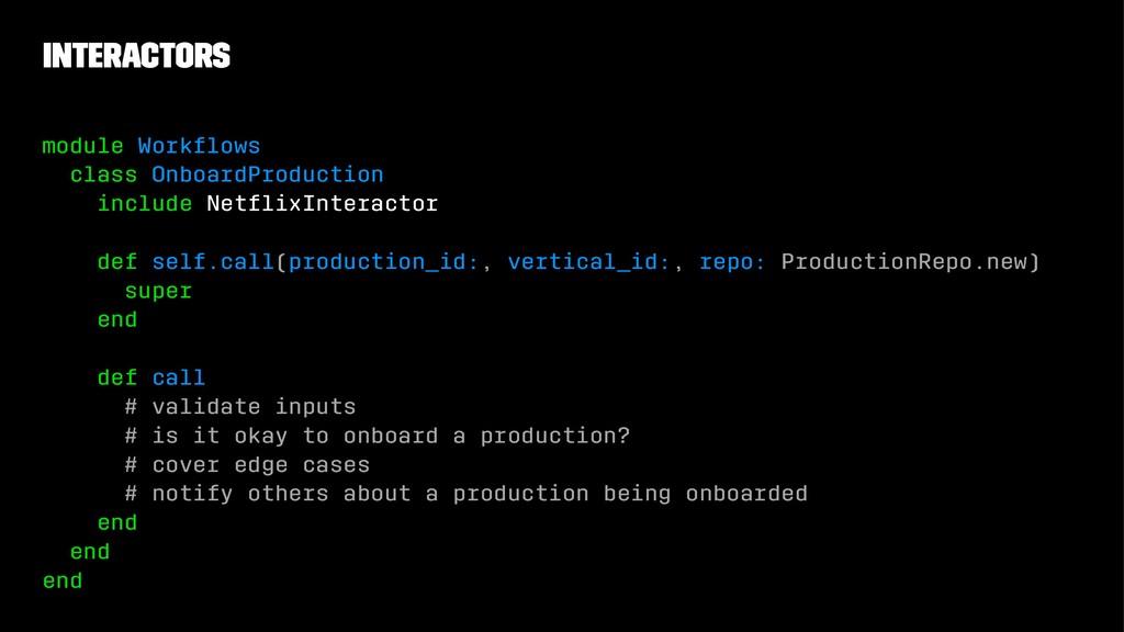 Interactors module Workflows class OnboardProduc...