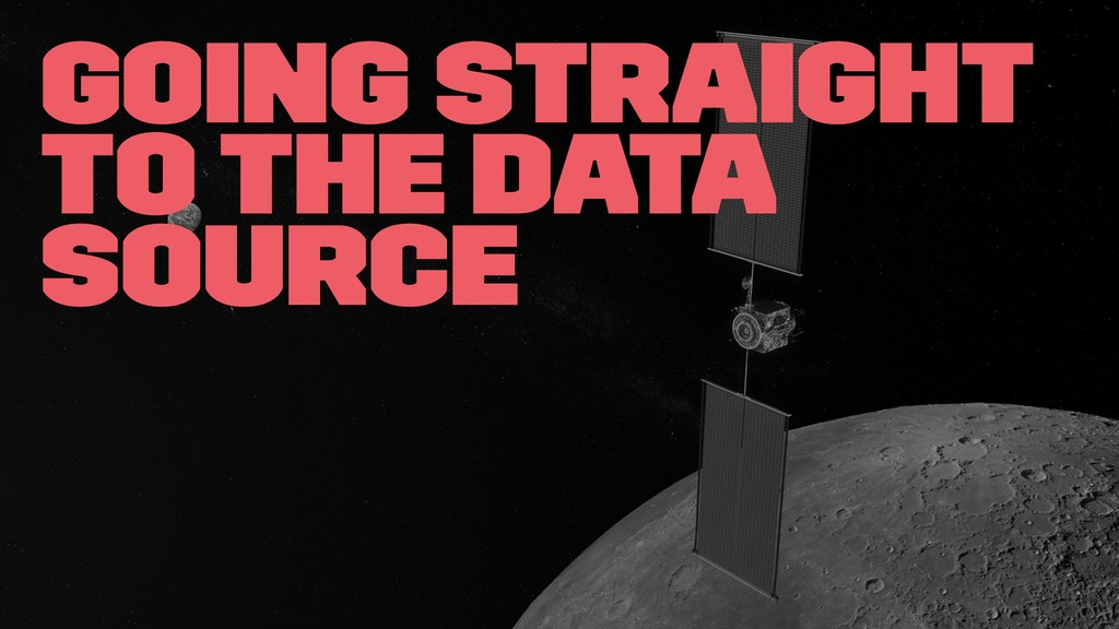 Going straight to the data source