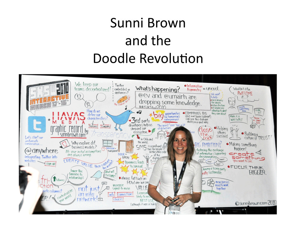 Sunni Brown   and the   Doodl...