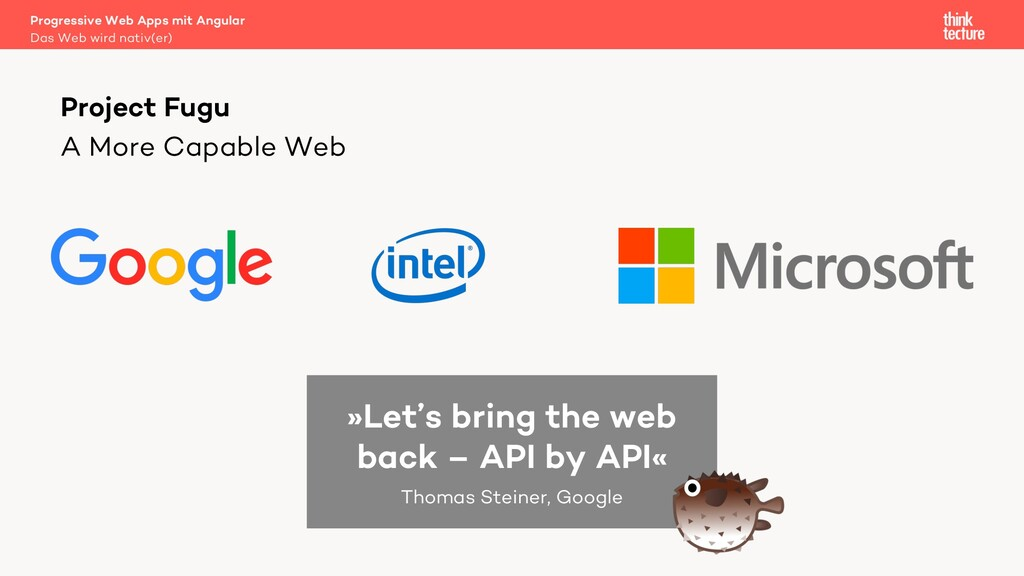 A More Capable Web Progressive Web Apps mit Ang...