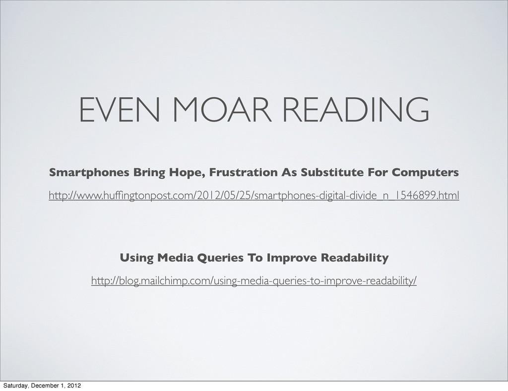 EVEN MOAR READING http://www.huffingtonpost.com/...