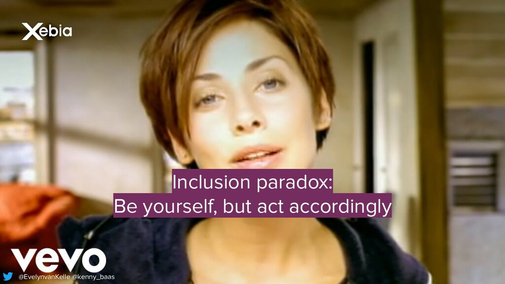 Inclusion paradox: Be yourself, but act accordi...
