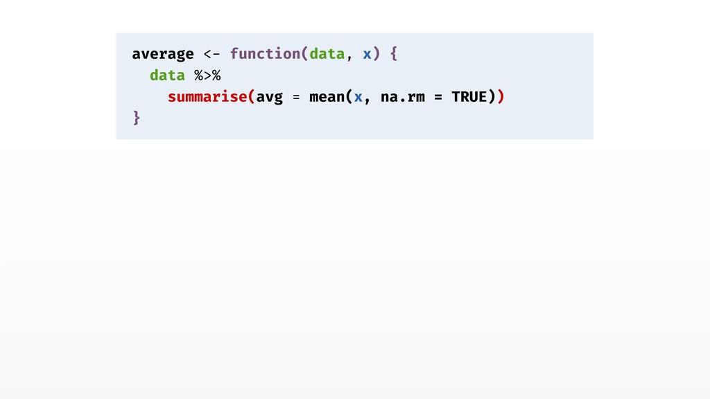 average <- function(data, x) { data %>% summari...