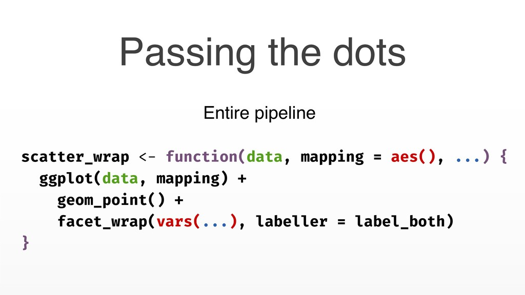 Passing the dots scatter_wrap <- function(data,...