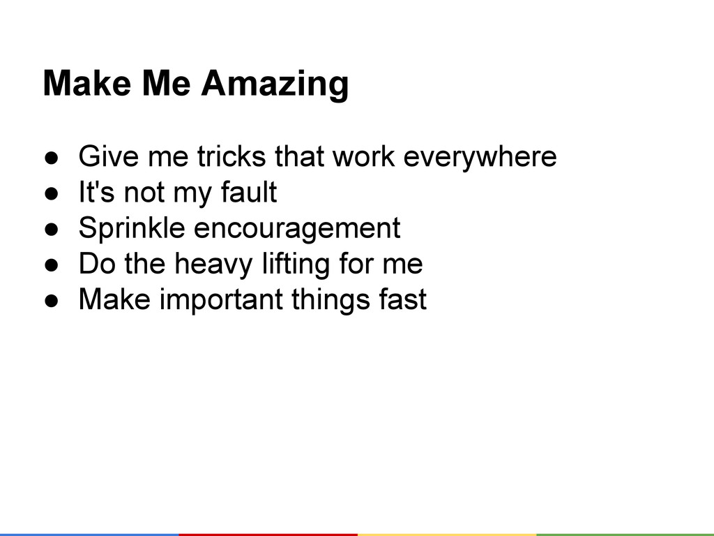 Make Me Amazing ● Give me tricks that work ever...