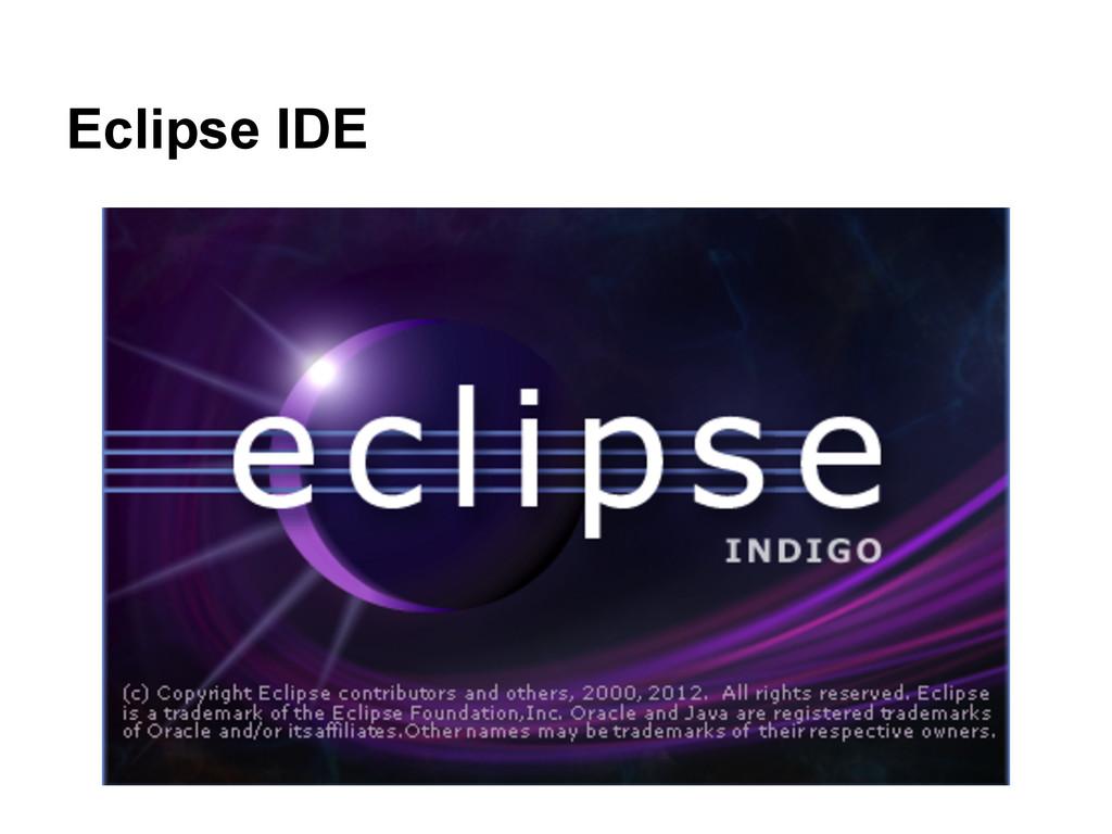 Eclipse IDE