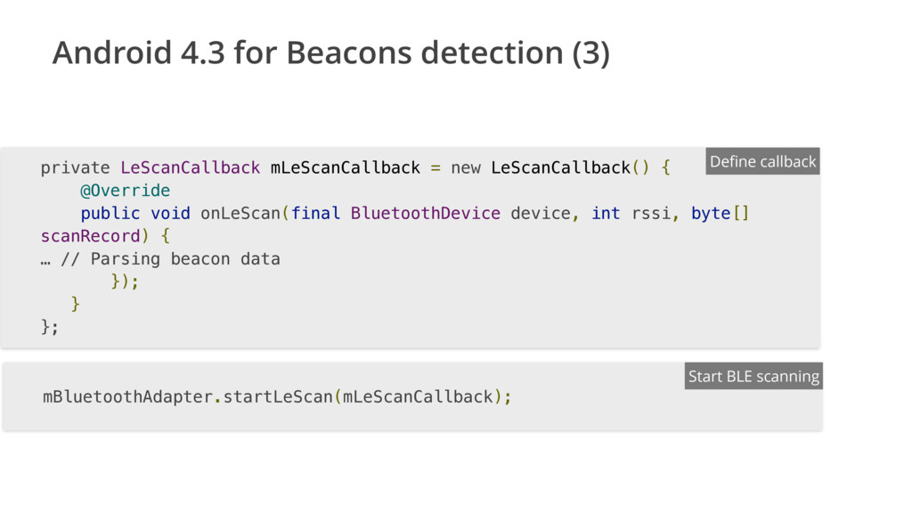 Android 4.3 for Beacons detection (3) private L...