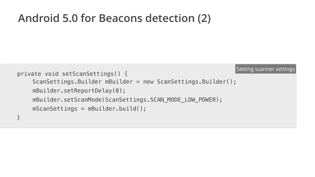 Android 5.0 for Beacons detection (2) ENTER FIL...