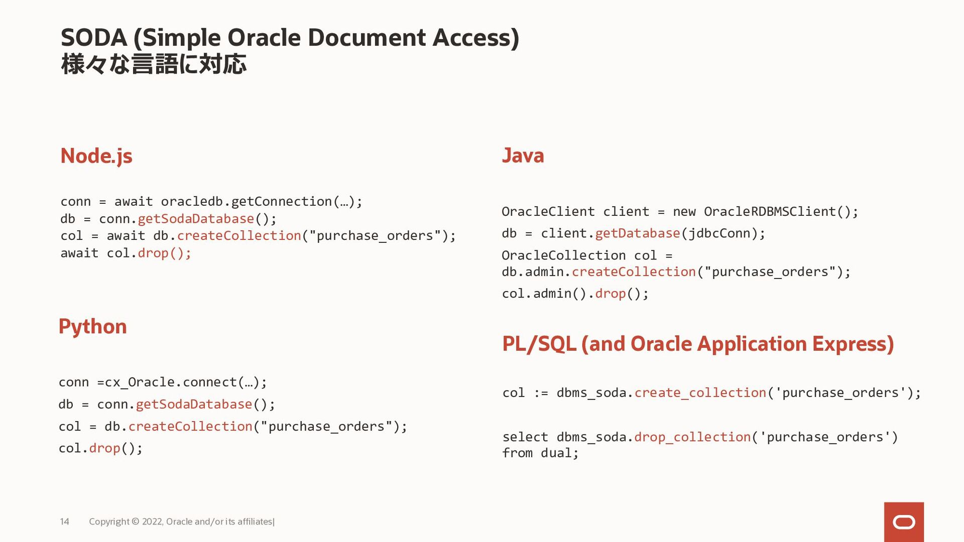 11 Copyright © 2021, Oracle and/or its affiliat...