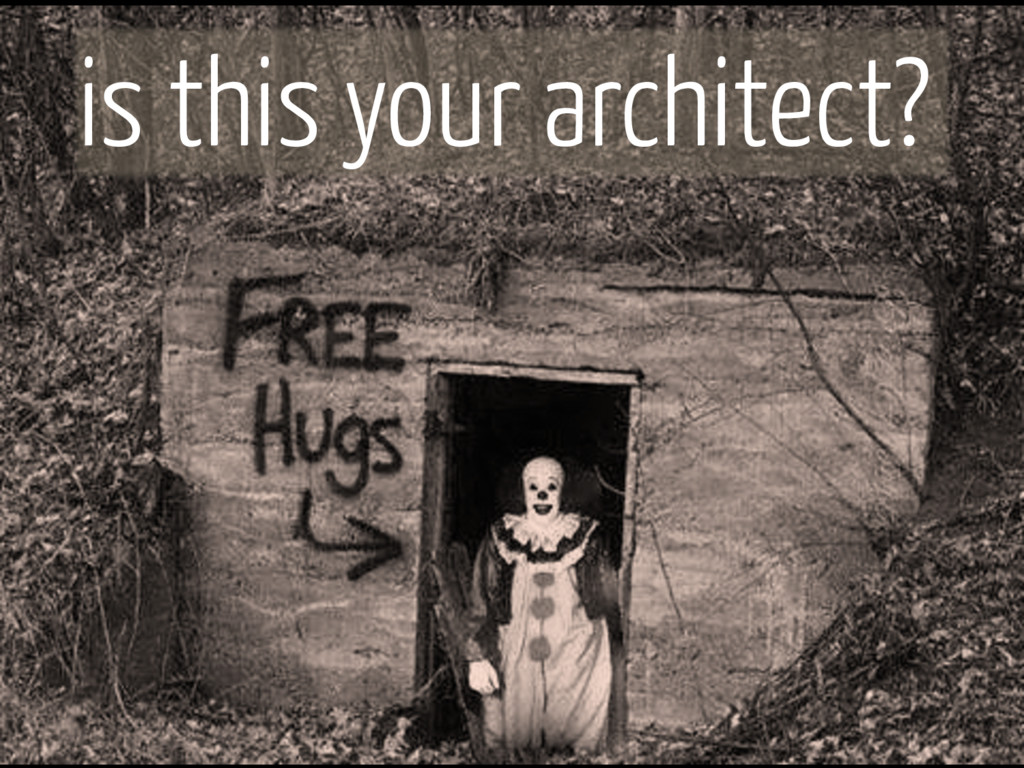 is this your architect?