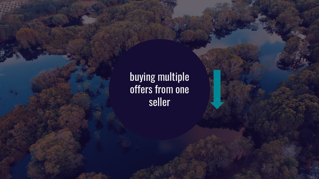 buying multiple offers from one seller