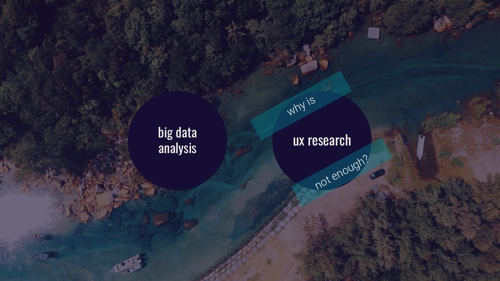 ux research big data analysis why is not enough?