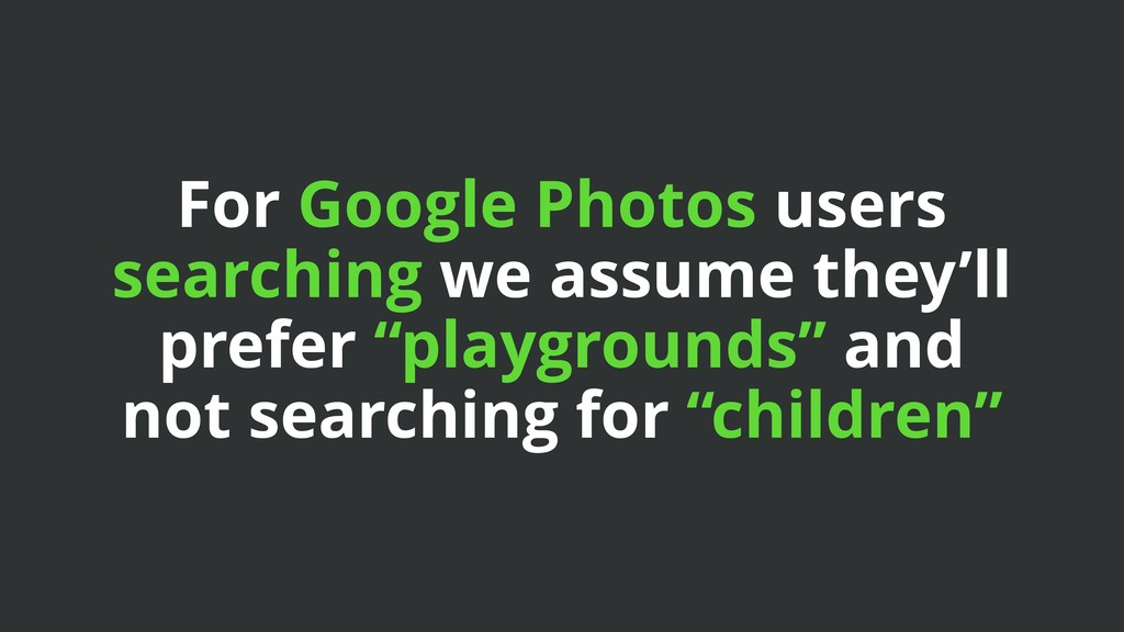 For Google Photos users searching we assume the...