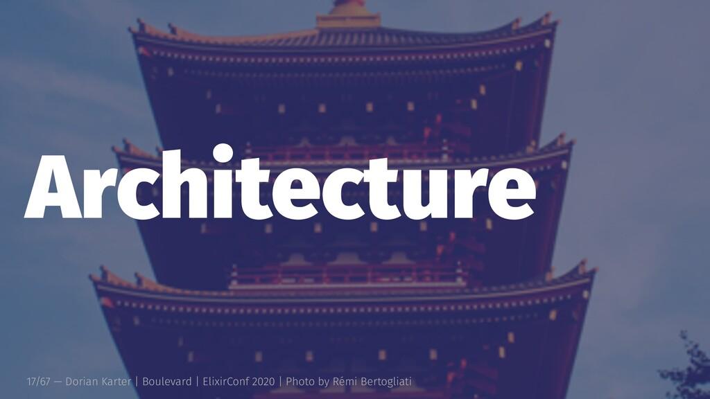 Architecture 17/67 — Dorian Karter | Boulevard ...