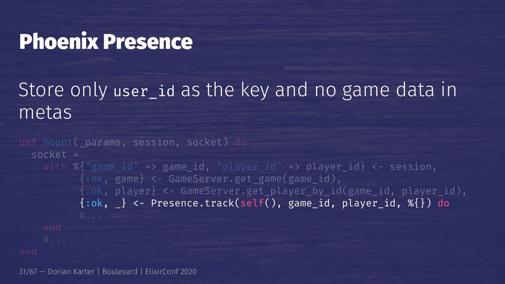 Phoenix Presence Store only user_id as the key ...