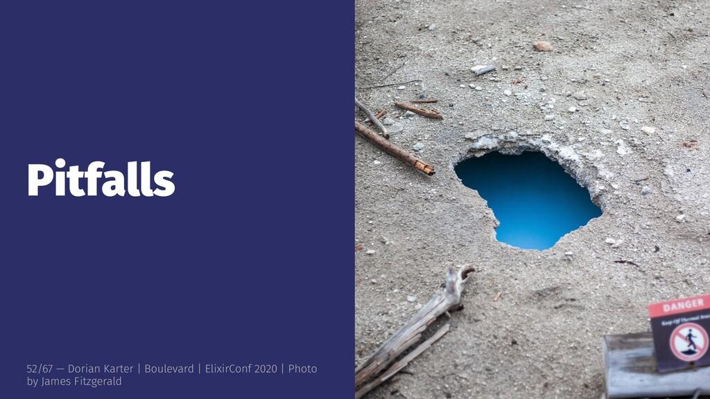 Pitfalls 52/67 — Dorian Karter | Boulevard | El...