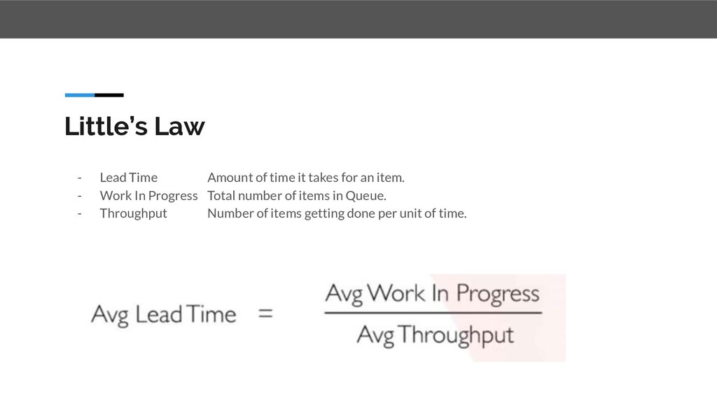 - Lead Time Amount of time it takes for an item...