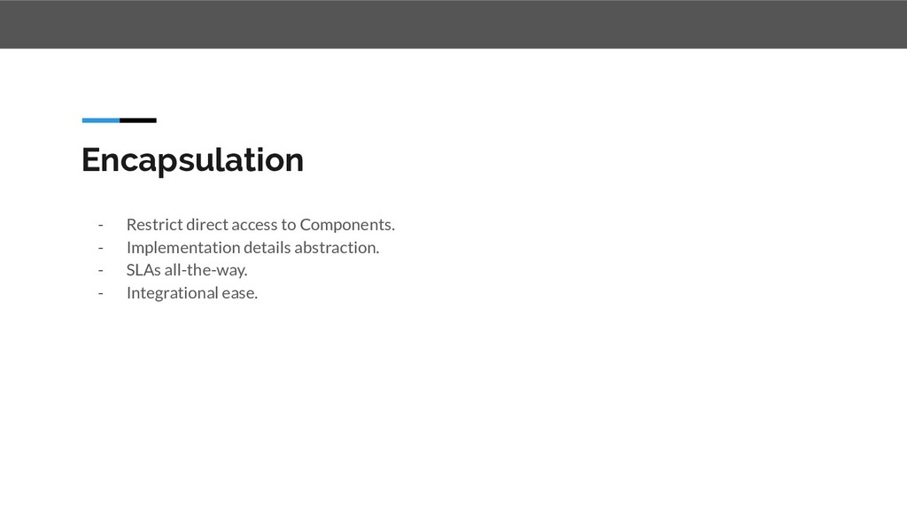 Encapsulation - Restrict direct access to Compo...