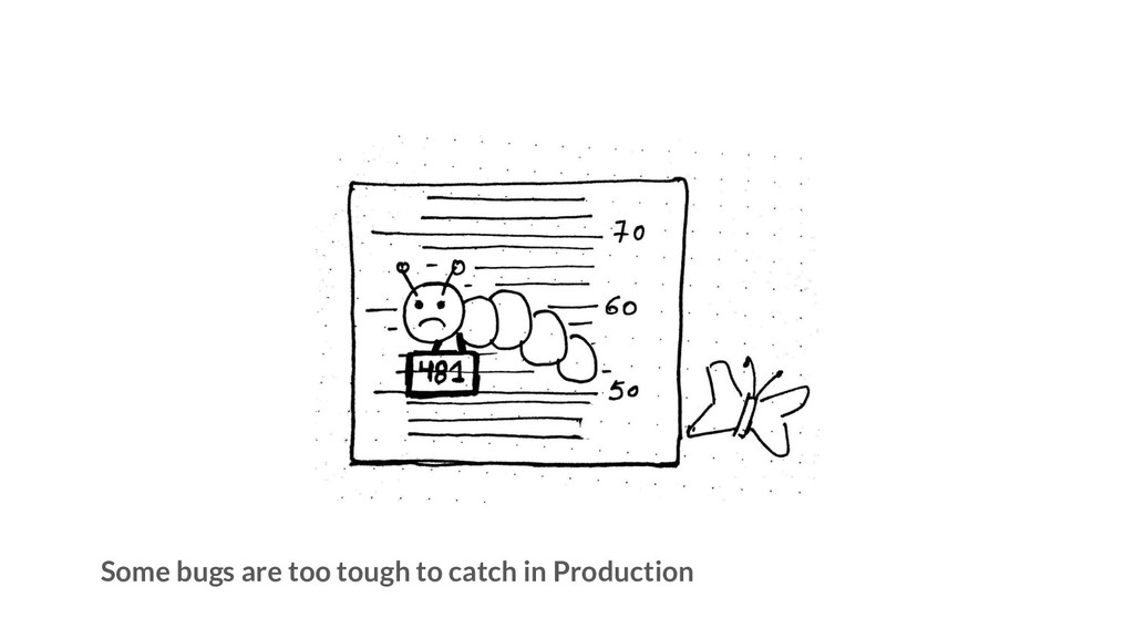 Some bugs are too tough to catch in Production