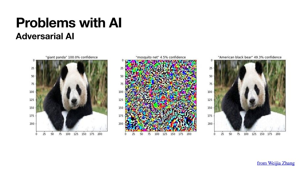 Problems with AI Adversarial AI from Weijia Zha...
