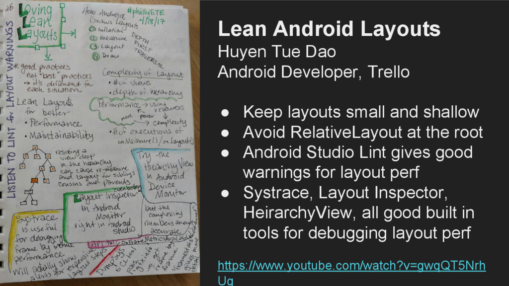 Lean Android Layouts Huyen Tue Dao Android Deve...