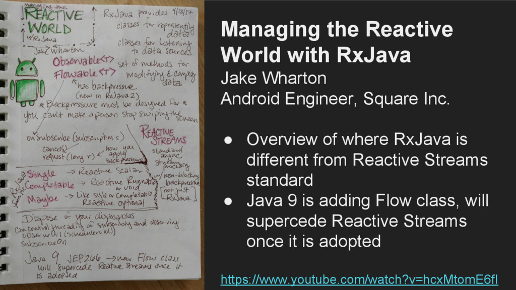 Managing the Reactive World with RxJava Jake Wh...