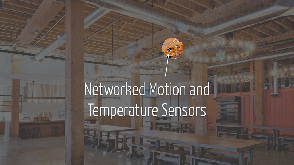 Networked Motion and Temperature Sensors