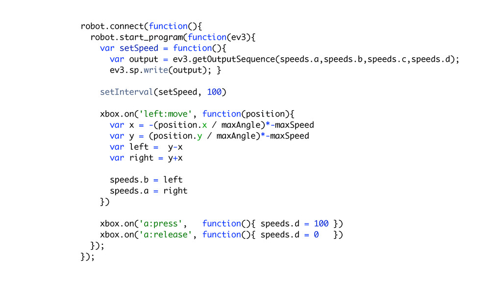 robot.connect(function(){ robot.start_program(...