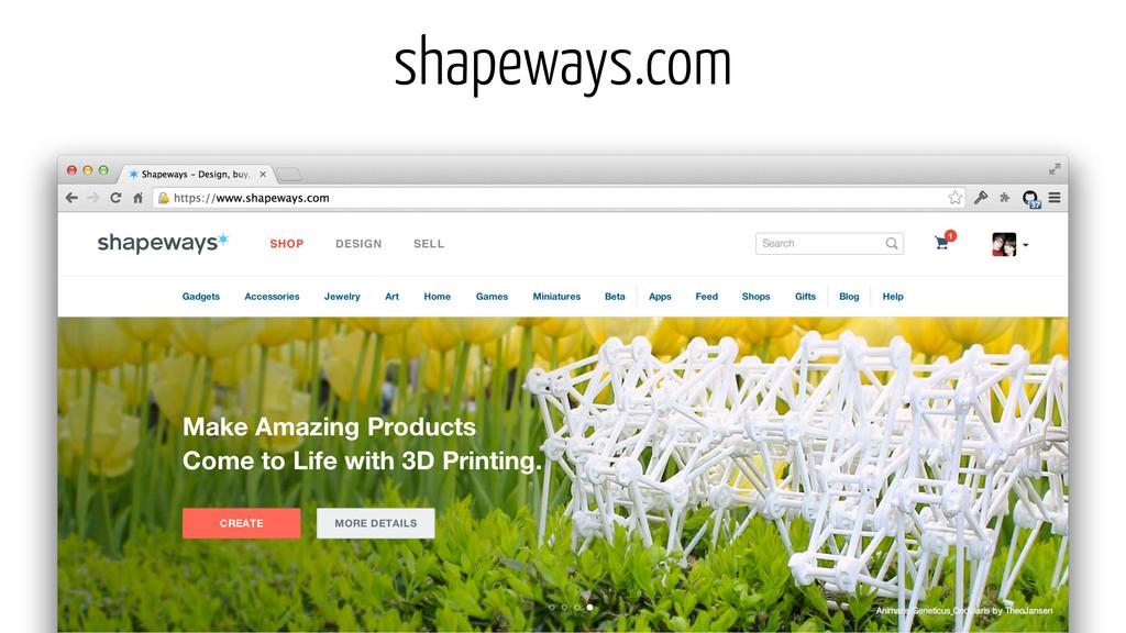 shapeways.com