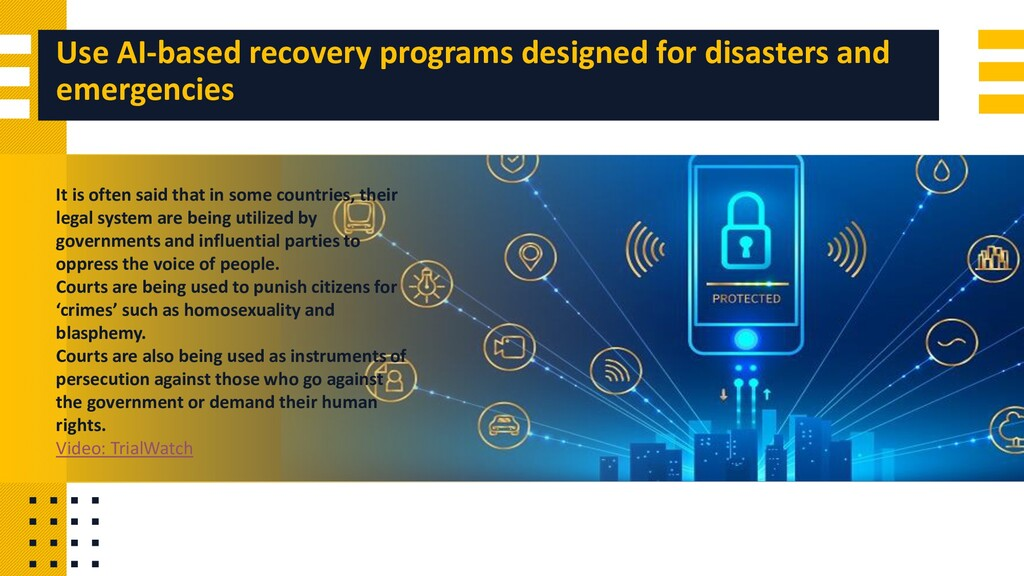 Use AI-based recovery programs designed for dis...
