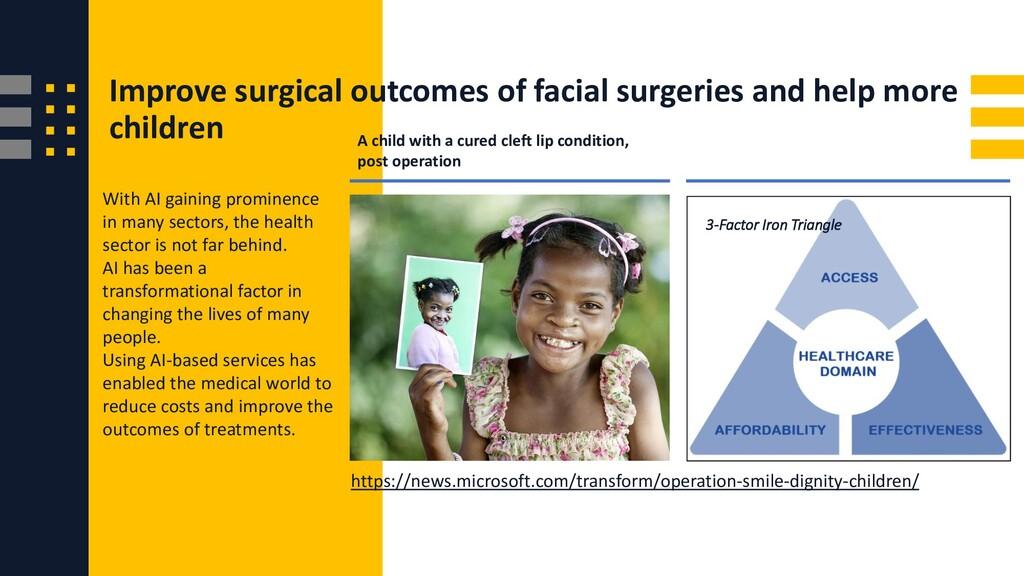 Improve surgical outcomes of facial surgeries a...