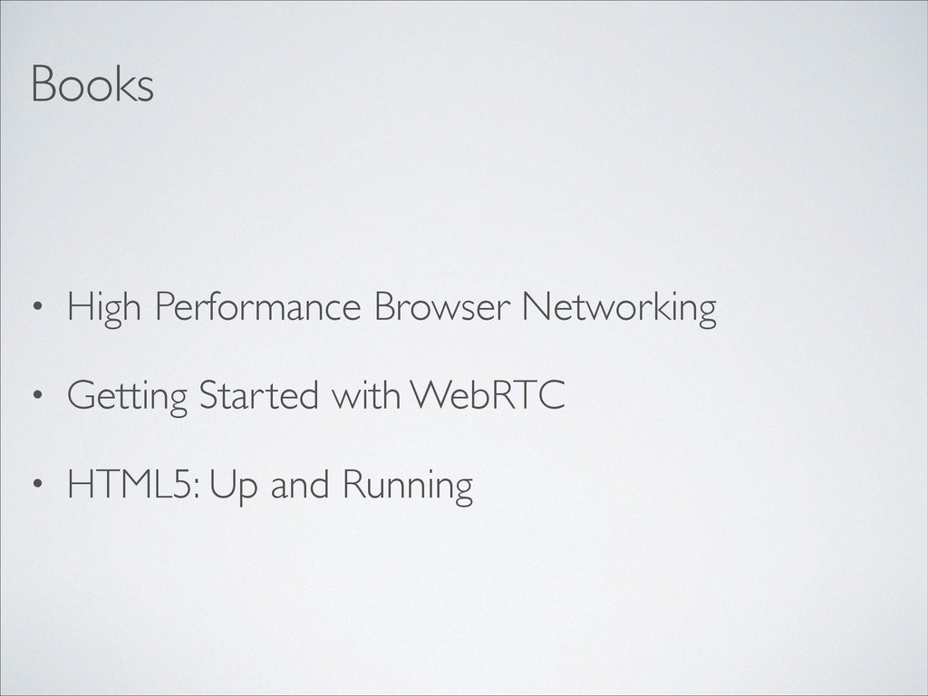 • High Performance Browser Networking	 