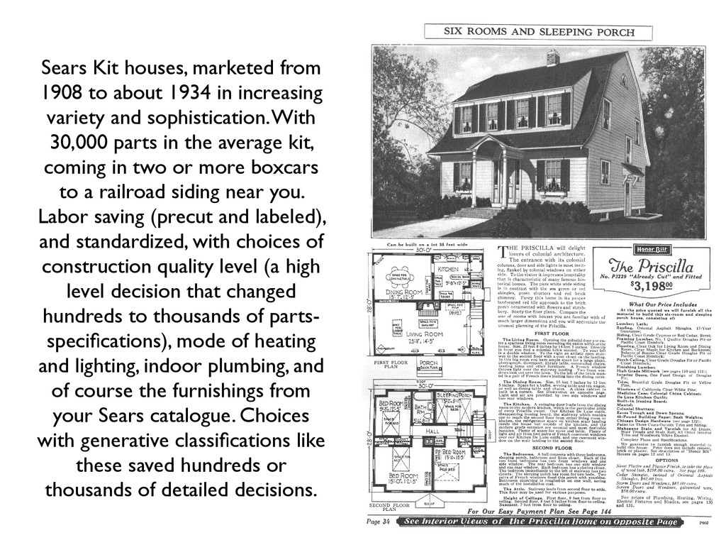 Sears Kit houses, marketed from 1908 to about 1...