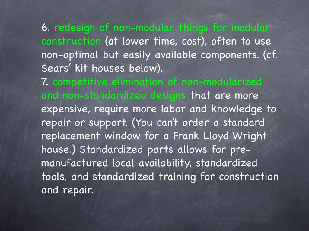 6. redesign of non-modular things for modular c...